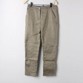 Dámské kalhoty odstín khaki
