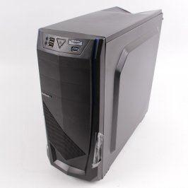 PC ATX skříň Evolveo MiddleTower černá