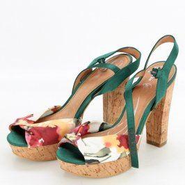 Dámské sandále na vysokém podpatku Baťa