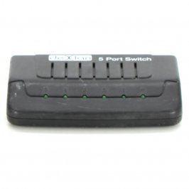 Switch DexLan 5 portů černý