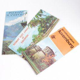 Průvodce 2 kusy a pohlednice 8 kusů