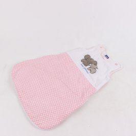 Dětský pytel na spaní Lupilu růžový