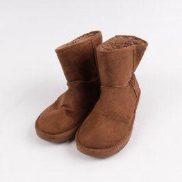 Dámská zateplená kotníčková obuv N & R