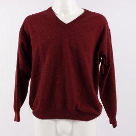 Pánský svetr Blancheporte rudý