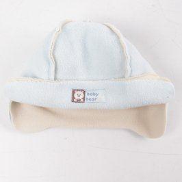 Dětská čepice Mothercare světle modrá