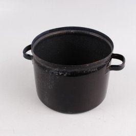Hliníkový hrnec Norma černý