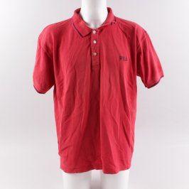 Pánské polo tričko Fila červené