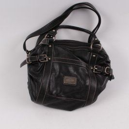 Dámská kožená kabelka Tom Tailor černá