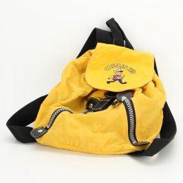 Dětský batoh Captain Kid žlutý