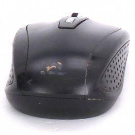 Bezdrátová myš Tracer černá