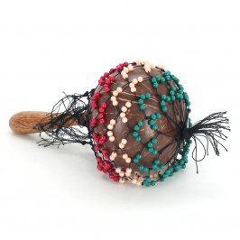 Rumba koule zdobená barevnými korálky