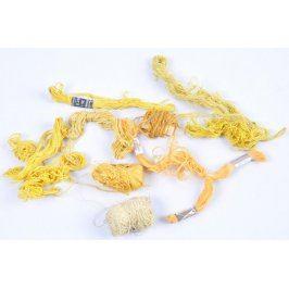 Příze na vyšívání odstín žluté