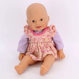 Panenka v růžových šatičkách 35 cm