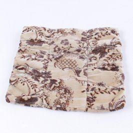 Povlak na polštář odstíny hnědé