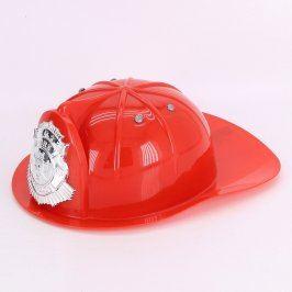 Hasičská dětská helma plastová