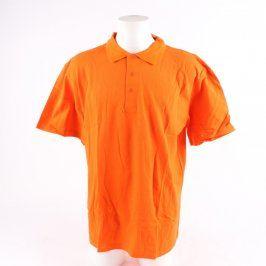Pánské polo Londog odstín oranžové