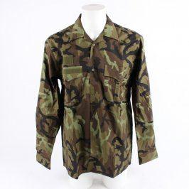 Pánská vojenská košile Kaja maskáčová