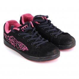 Dámské tenisky RTX černé s růžovým potiskem