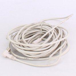 Koaxiální kabel IEC F bílý délka 800 cm