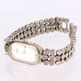 Dámské hodinky Lorus kovové s kamínky