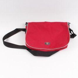 Taška na notebook Diviley černočervená