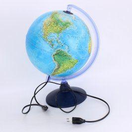 Svíticí ozdobný globus