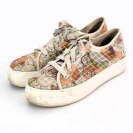 Dámská plátěná obuv barevná