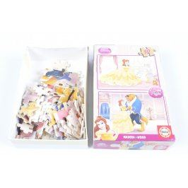 Puzzle Disney Princess: Kráska a zvíře