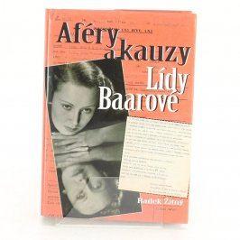 Kniha Aféry a kauzy Lídy Baarovové