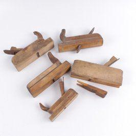 Sada hoblíků na dřevo hnědé - 5 ks