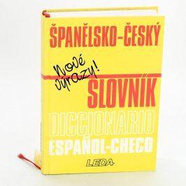 Kniha Španělsko-český slovník