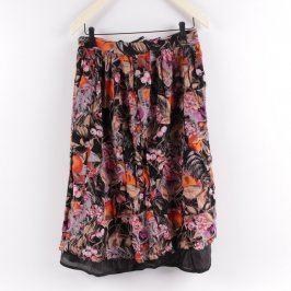 Dámská sukně dlouhá květovaná