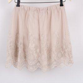 Dámská krajková společenská sukně