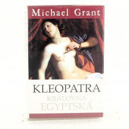 Historická kniha Kleopatra Královna Egypt.