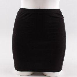 Dámská sukně H&M Divided černá bavlněná