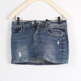 Dámská sukně Clockhouse džínová modrá