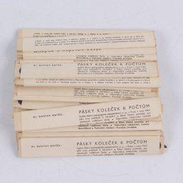 Pásky koleček k počtům - 3000 koleček