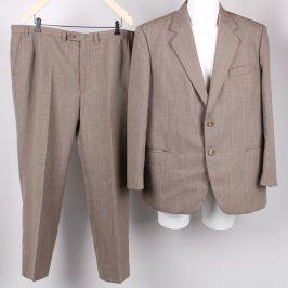 Pánský oblek odstín hnědé