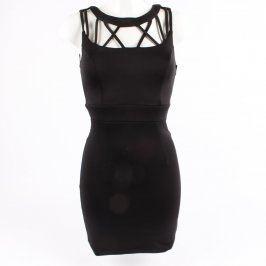 Dámské elegantní šaty Forever 21 černé