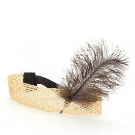 Čelenka do vlasů s peříčkem