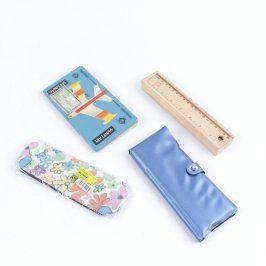 Školní potřeby: Pastelky, tužky, penály