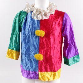 Dětský karnevalový kostým: Vrchní díl klauna
