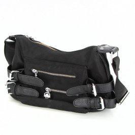 Dámská kabelka Kaobei černá se zipy