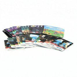Sběratelské karty: Angry Birds a Šmoulové