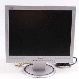 LCD monitor Philips 150S7FS/00 stříbrný