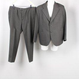 Pánský oblek OP Prostějov odstín šedé