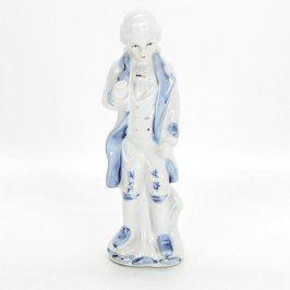 Porcelánová figurka muže 18 cm