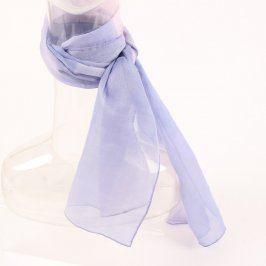 Dámský šátek fialový a hnědý 2 ks