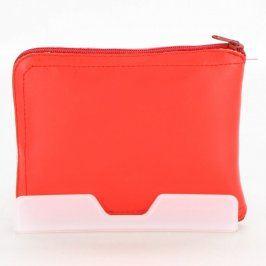 Nákupní taška v pouzdře červená