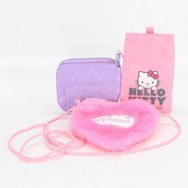 Sada barevných kapsiček a kabelka Princess